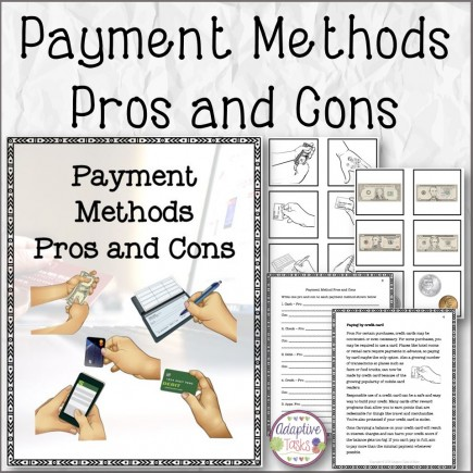 Payment Methods Pros and Cons