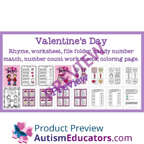 Day Rhyme Matching Tasks and Worksheets