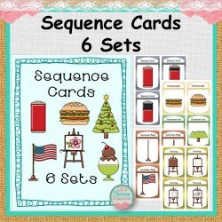 Sequence Cards - 6 Sets
