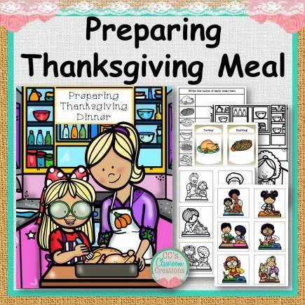 Preparing Thanksgiving Dinner