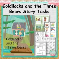 Goldilocks and the Three Bears Story Tasks