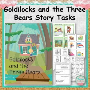 Goldilocks and the Three Bears Story Tasks