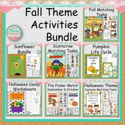 Fall Theme Activities Bundle