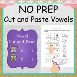 NO PREP Vowel Cut and Paste