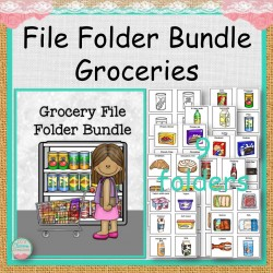 File Folder Bundle Groceries