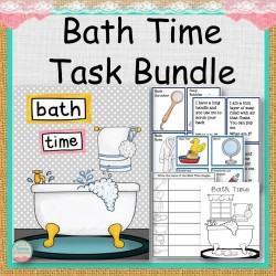 Bath Time Task Bundle