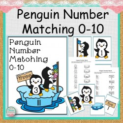 Penguin Number Match 0-10