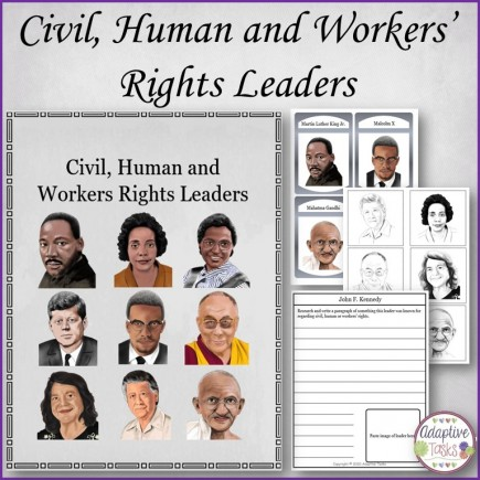 Civil, Human and Workers' Rights Leaders