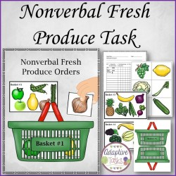 Nonverbal Fresh Produce Task