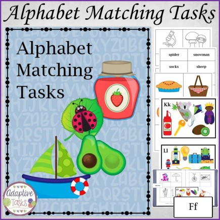 Alphabet Matching Tasks