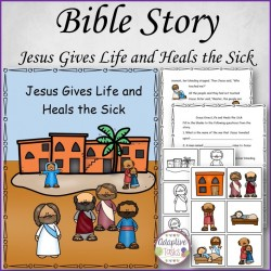 Bible Story Jesus Gives Life and Heals the Sick