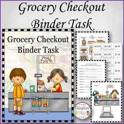 Grocery Checkout Binder Task