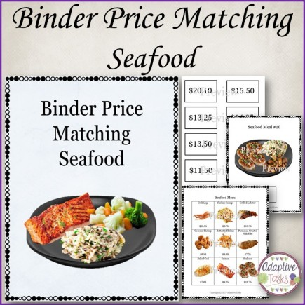 Binder Price Matching Task-Seafood