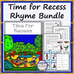 Time for Recess Rhyme Bundle