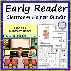 "Early Reader ""I Can be a Classroom Helper"""