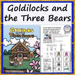 STORY BUNDLE Goldilocks and the Three Bears