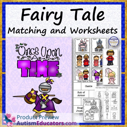 Fairy Tales.Matching. worksheet - Free ESL printable worksheets ...
