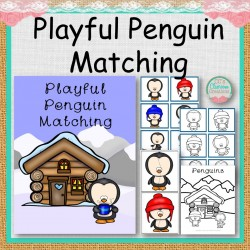 Playful Penguin Matching