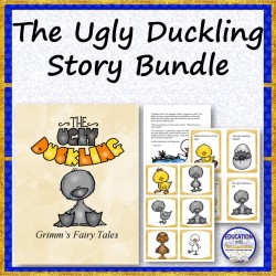 The Ugly Duckling Story and Activities Bundle