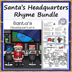 Santa's Headquarters Rhyme Bundle