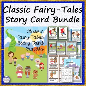Classic Fairy-Tales Story Card Bundle