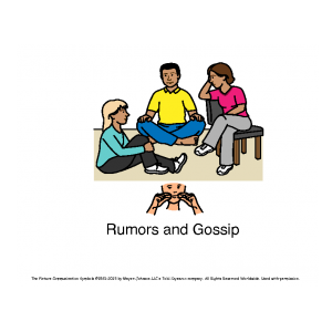 gossip and rumors in the business Rumors aren't confined to neighborhood gossip with a brief but well-placed comment that will turn the attention of the press and public to you or your business.
