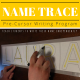 Handwriting Program: Name Trace