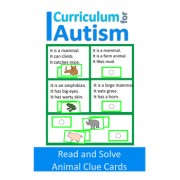 Animal Reading Comprehension Clue Cards