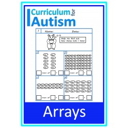 Arrays Multiplication Worksheets