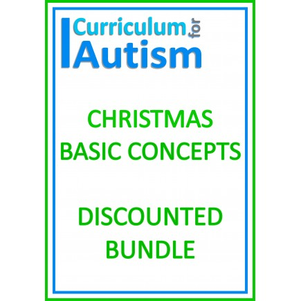 Christmas Basic Concepts Match Sort Count DISCOUNTED BUNDLE