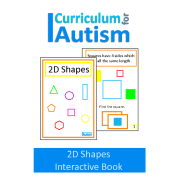 2D Shapes Interactive Adapted Math Book