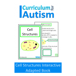 Cell Structures Biology Interactive Adapted Book
