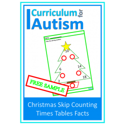 Christmas Times Tables Facts Missing Numbers