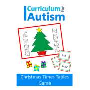 Christmas Times Tables Facts Game for Turn Taking