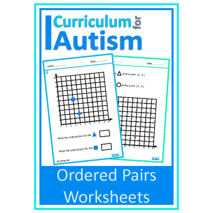 Coordinates Ordered Pairs Worksheets