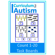 Count 1-20 Task Boards