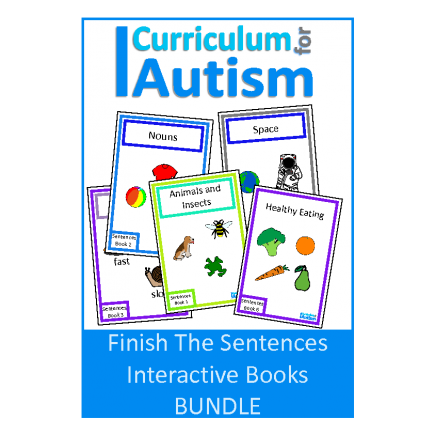 Finish The Sentences Interactive Books DISCOUNTED BUNDLE