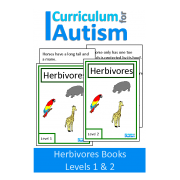 Herbivores Interactive Adapted Biology Book, 2 Levels
