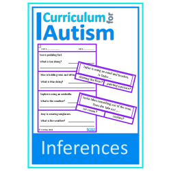Inferences Clip Cards & No Prep Worksheets