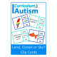 Animal Habitats- Land, Ocean or Sky Clip Cards