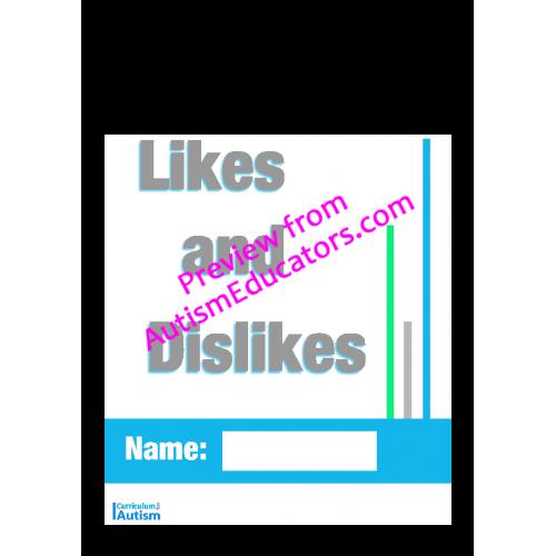 Skills Likes and Dislikes Worksheets
