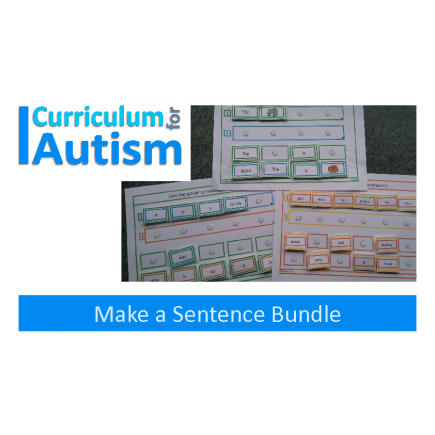 Sentence Making Activity, DISCOUNTED BUNDLE