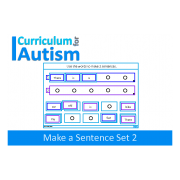 Sentence Making Activity, Set 2