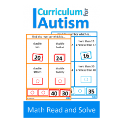 Math Read and Solve Task Cards