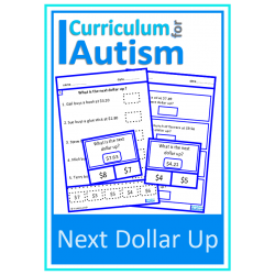 Next Dollar Up Money Skills Worksheets & Clip Cards