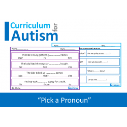 Pronouns, No Prep Worksheets