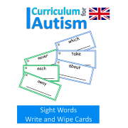 Read and Write Sight Words- UK Version