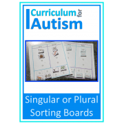 Singular & Plural Sorting Boards