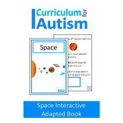 Space Interactive Adapted Science Book