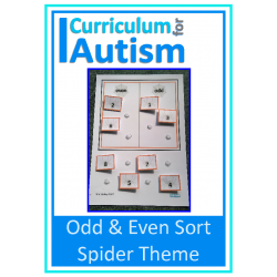 Odd & Even Numbers Sort- Spiders